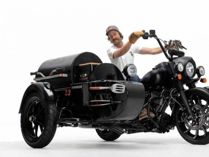 Ideale zomermotor: Indian BBQ