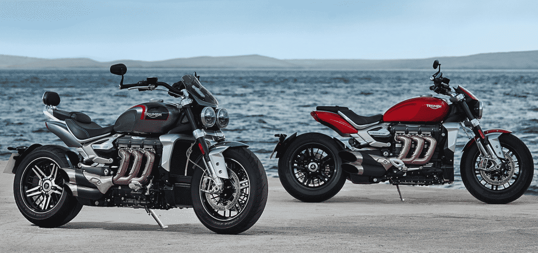 Triumph Rocket 3 R en GT 2020
