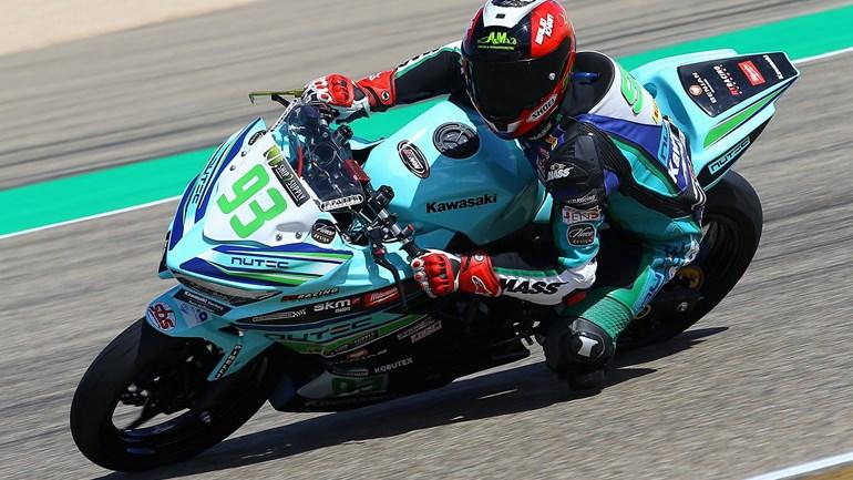 Walid Khan op de Nutec – RT Motorsports by SKM – Kawasaki