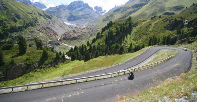 Kaunertaler Gletscherstrasse: verborgen sensatie op 2.750 meter