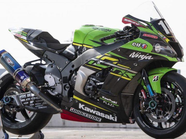 De 8 Uren van Suzuka winnende Kawasaki ZX10RR