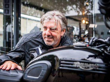 Radio DJ Ruud de Wild Triumph ambassadeur