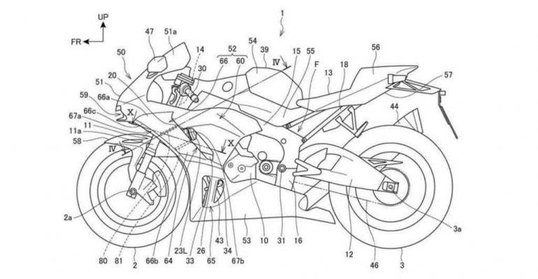 2020 Honda Fireblade krijgt computergestuurde winglets voor meer downforce