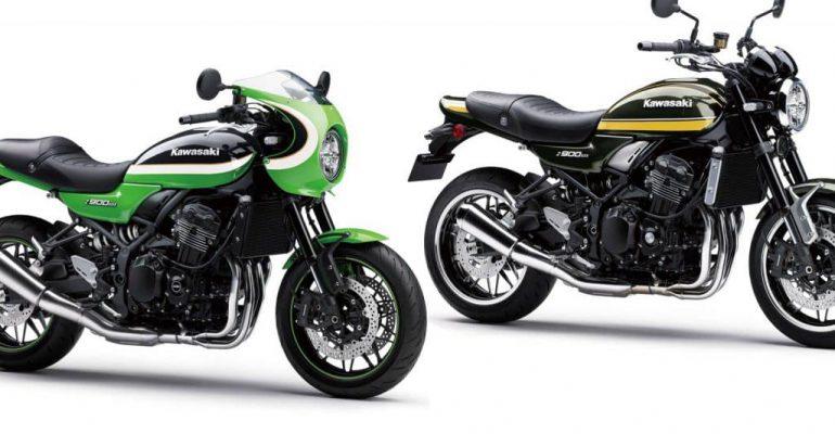 Nieuwe kleuren voor 2020 Kawasaki Z900RS en Z900RS CAFE