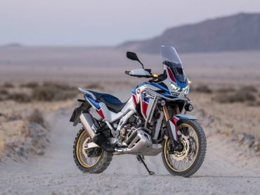 Ook nieuwe Honda Africa Twin Adventure Sports