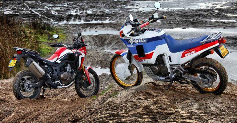 Honda Africa Twin: toen en nu