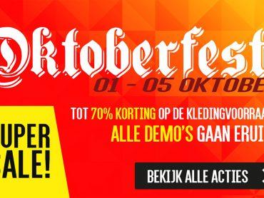 Oktoberfest SUPER SALE bij Arie Molenaar Motors