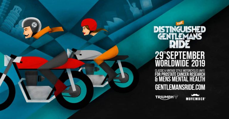 De Distinguished Gentlemans Ride komt er weer aan