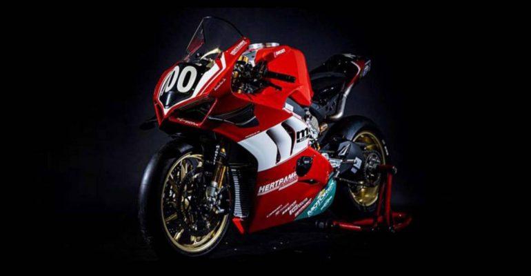Ducati Panigale V4 R in Endurance trim