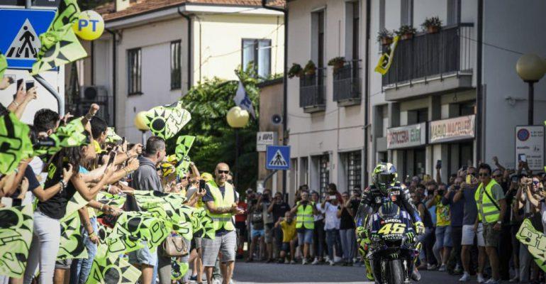Rossi maakt thuistoer in aanloop naar Misano