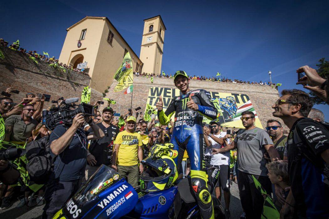 Valentino Rossi Tavulia San Marino Misano The Doctor VR46 Yamaha YZF-M1