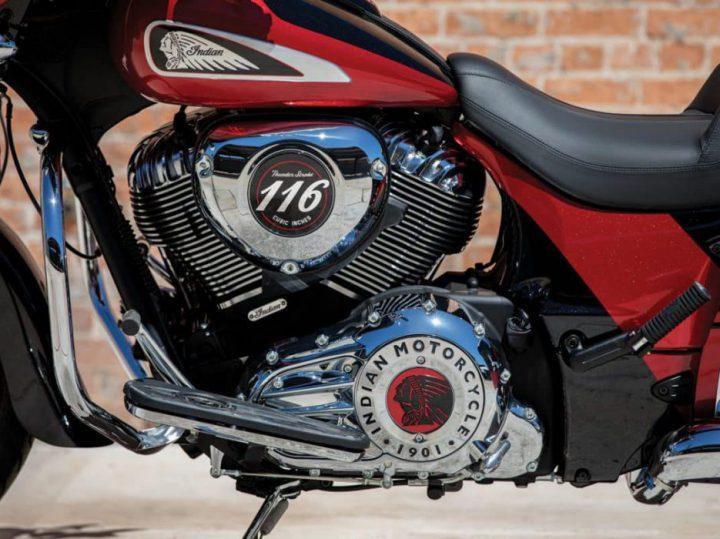Amerikaanse spier: Indian presenteert grotere Thunder Stroke 116