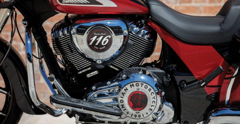 Amerikaanse spier: Indian presenteert grotere Thunder Stroke 116