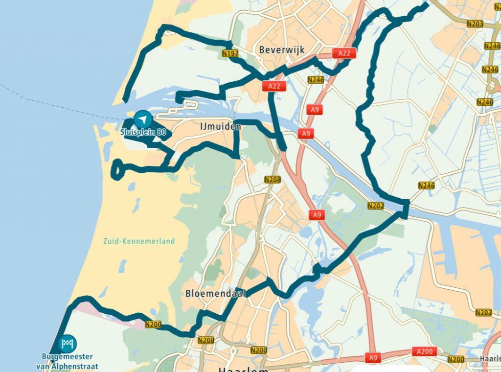 Route Langs het Tuinpad van Ad IJmond