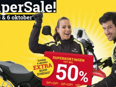 MotoPort SuperSale 4, 5 en 6 oktober 2019!