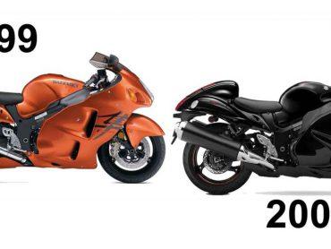 Kwellende gedachte: nieuwe Suzuki Hayabusa