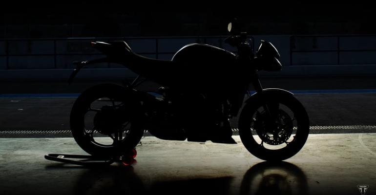 Nieuwe Triumph Street Triple RS aangekondigd