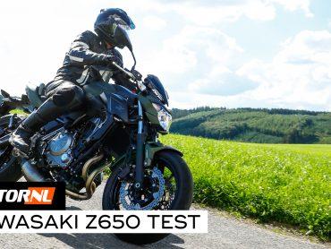 Kawasaki Z650 test