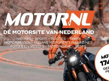 Maandelijks bijna 175.000 motorrijders op motor.nl
