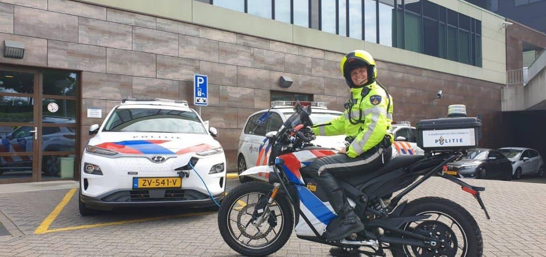 Politie elektrische motor