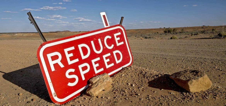 verlaging maximumsnelheid