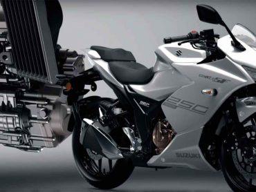 Nieuw oliegekoeld blok voor Suzuki GSX-R 250 SF