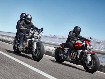 Triumph Rocket 3 R & Rocket 3 GT op Bigtwin Bikeshow