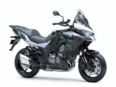Nieuwe kleurstellingen voor de 2020 Kawasaki Versys