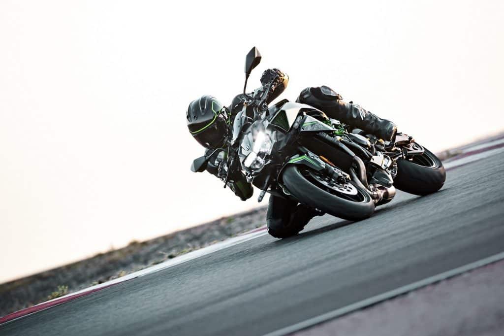 Kawasaki Z H2 Rijdend
