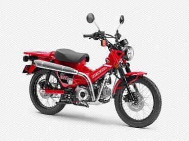 Productierijp conceptmodel: Honda CT125