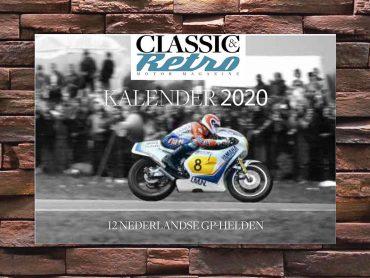Staren naar de Classic & Retro Jaarkalender 2020!