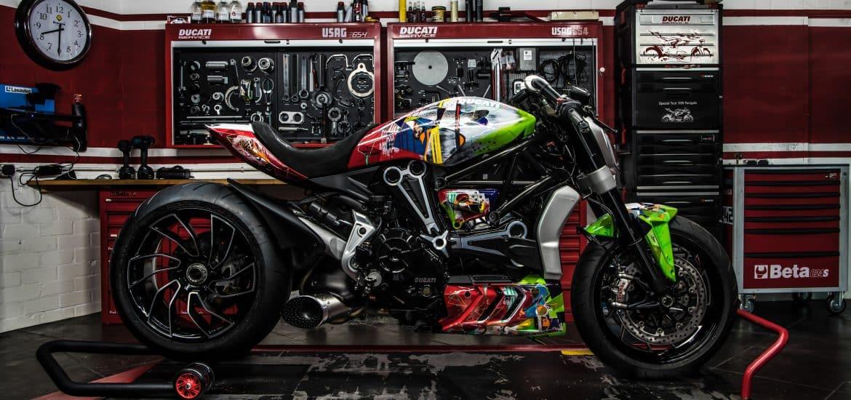 Ducati XDiavel Collegamento ART-Bike
