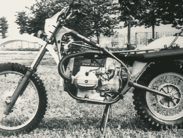 Vergeten prototype: Laverda-BMW GS800