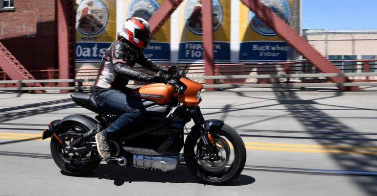 Jongere motorrijder heeft weinig belangstelling voor LiveWire