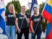 Nikki van der Spek in 2020 GS Trophy Female Team