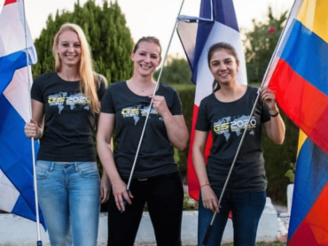 Nikki van der Spek in 2020 GS Trophy Female Team