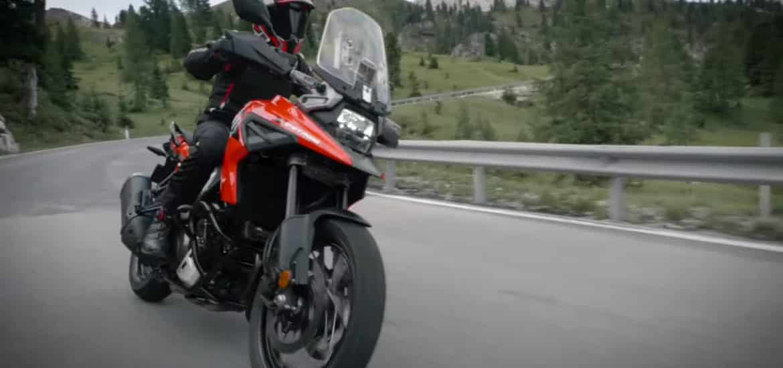Suzuki V-Strom 1000 2020 EICMA teaservideo