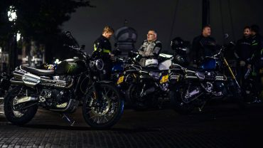 Triumph Night Ride Amsterdam – Lezerstest