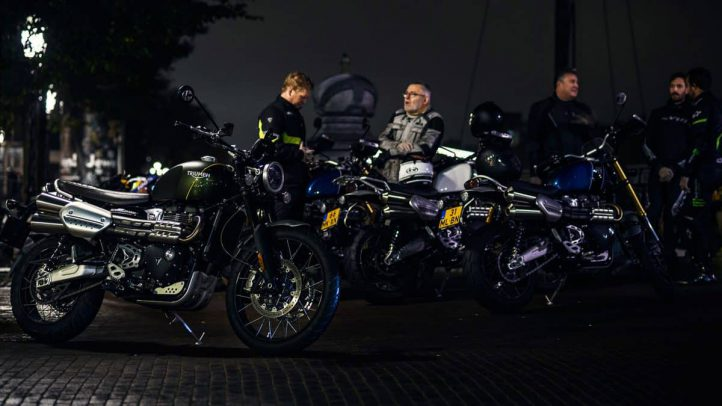 Triumph Night Ride Amsterdam – Lezerstest