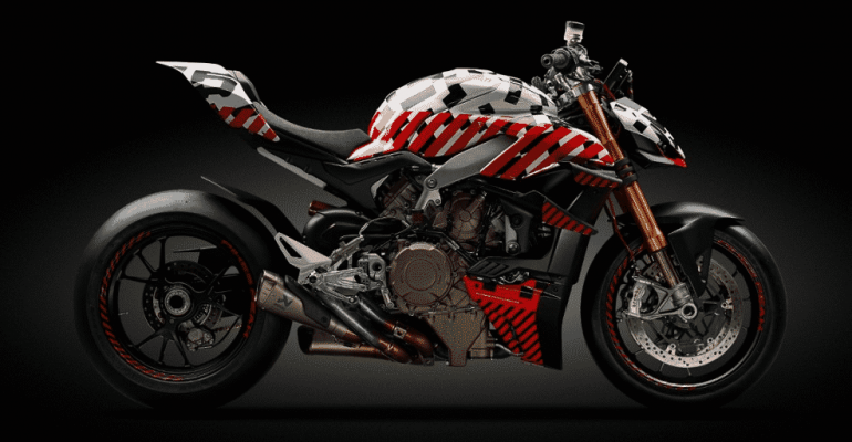 Meer details over Ducati V4 Streetfighter