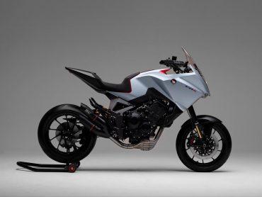 Veelbelovend: Honda CB4X Concept