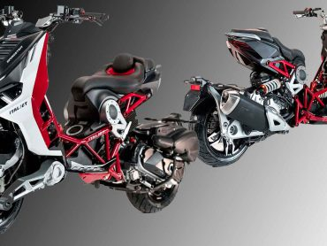 Italjet Dragster: opvallend design