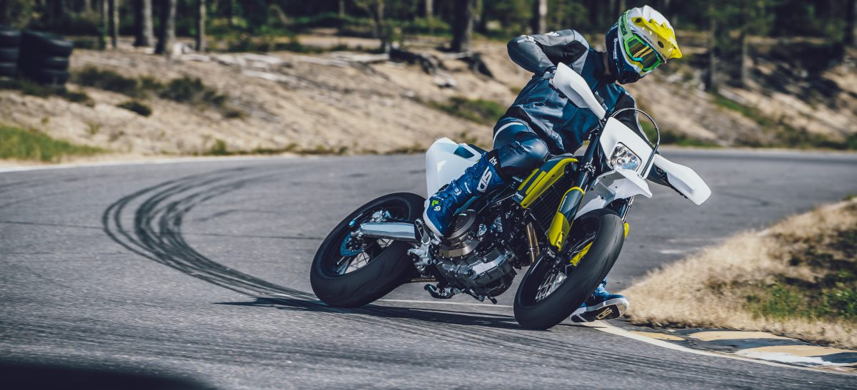 Nieuwe 2020 Husqvarna Supermoto 701 Motor Nl