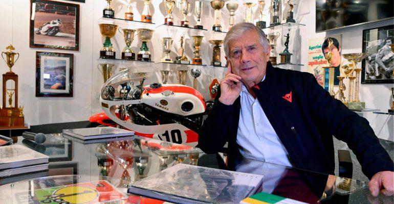 Giacomo Agostini opent privémuseum aan huis