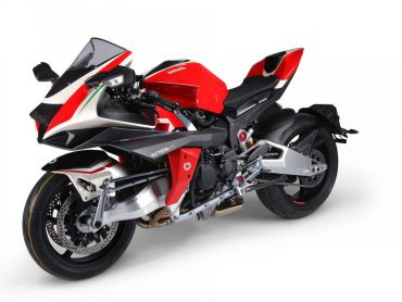 Bimota Tesi H2: Ultieme Kawasaki-Bimota combi