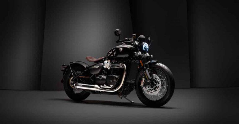 Nog een Factory Custom met de Triumph Bobber TFC 2020