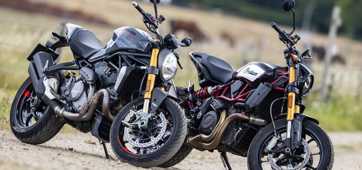 Ducati Monster 1200S vs Indian FTR1200S