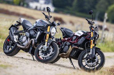 Test: Ducati Monster 1200S vs Indian Scout FTR1200S