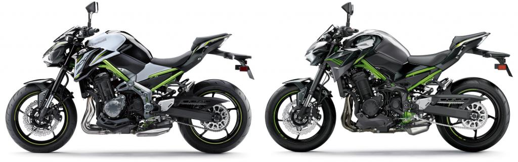 Kawasaki Z900 Vergelijk