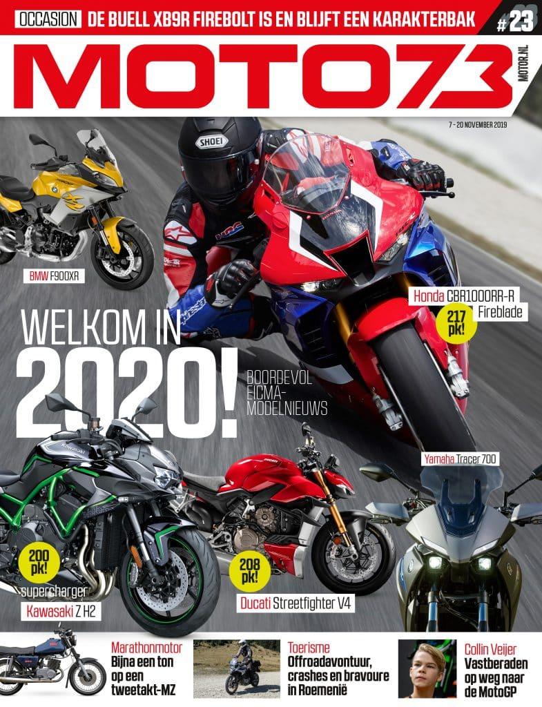MOTO73 #23 cover